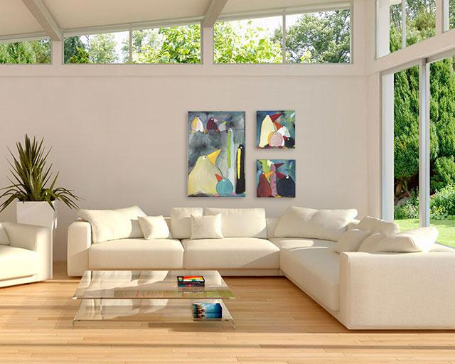 kunst til stuen